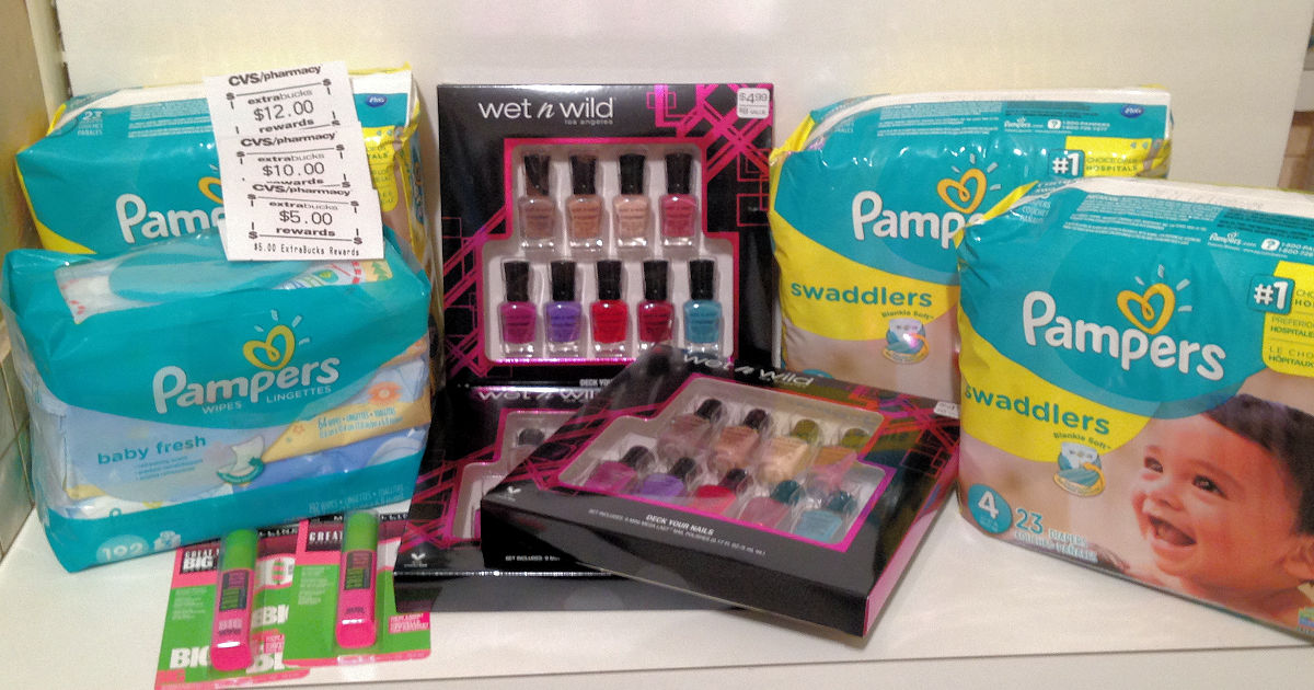 Save 50% or More on Pampers, Wet N Wild and Maybelline at CVS ...