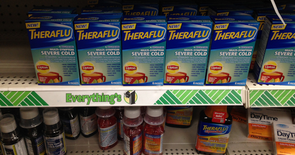 picture about Printable Dollar Tree Coupons identified as Absolutely free Theraflu at Greenback Tree with Coupon - Printable Discount codes