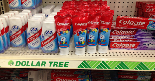 a paper to study toothpaste buying