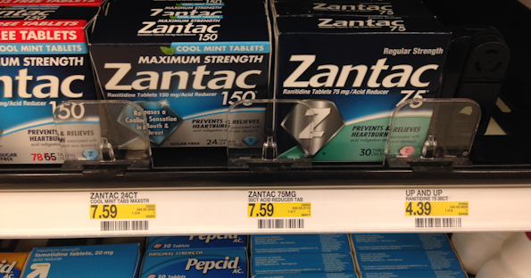 photo regarding Zantac Printable Coupon identify Zantac Acid Reducer for $0.45 at Focus with Discount codes