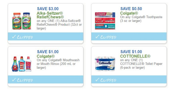 graphic regarding Cottonelle Coupons Printable known as Colgate, Cottonelle and Alka Seltzer Printables - Printable