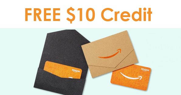 FREE $10 Amazon Credit when yo...