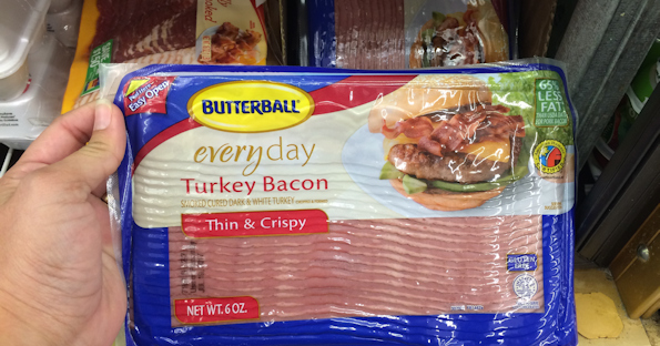 Butterball Turkey Bacon ONLY $1.49 at Walgreens