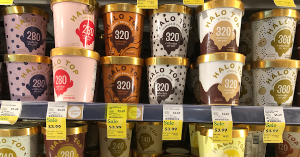 photograph regarding Halo Top Printable Coupon called Halo Final Ice Product at Comprehensive Food items for $2.99 - Printable Discount codes