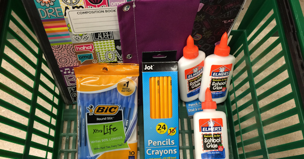 9d2e2b8b90 Dollar Tree has started putting out the school supplies. Swing by and score  all the necessities for a year full of learning for just a dollar each!