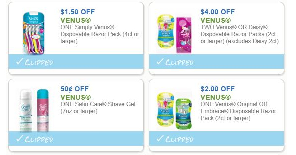 photograph about Venus Printable Coupons titled Julys Shaving Personal savings - Printable Discount codes