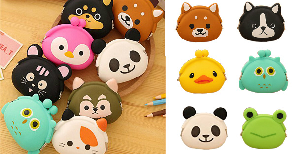 Animal Character Change Purses...