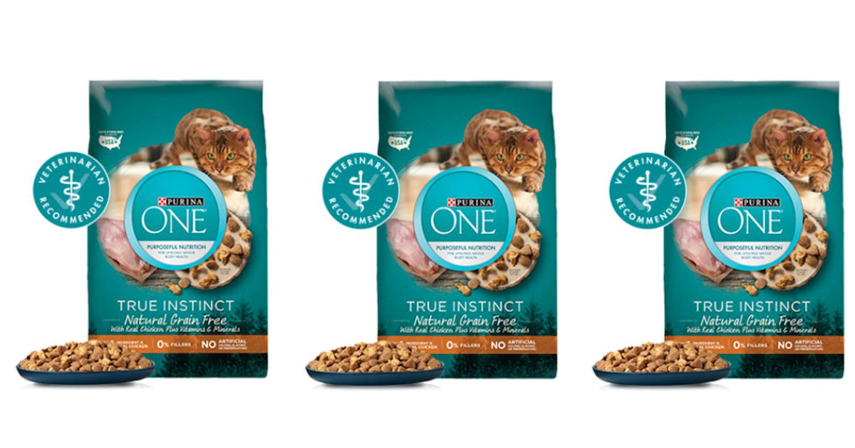 Free Bag of Purina ONE Cat Food