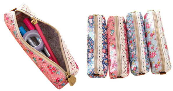 Retro Flower Pencil Cases Only...