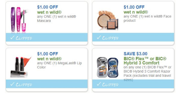 photo about Wet and Wild Printable Coupons called Contemporary Make-up Printables - Printable Discount coupons