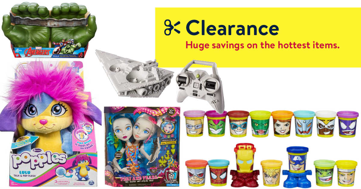 Walmart HUGE Toy Clearance wit...