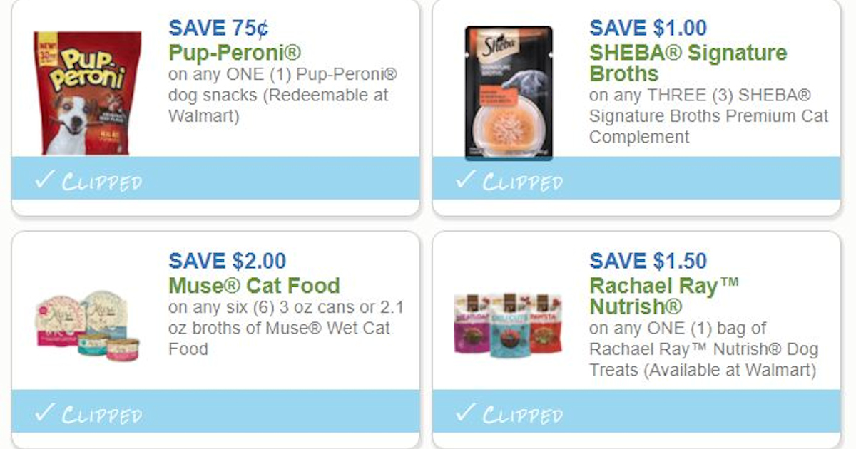 photograph relating to Rachael Ray Cat Food Printable Coupons titled Price savings for Your Fur-Kid - Printable Discount coupons