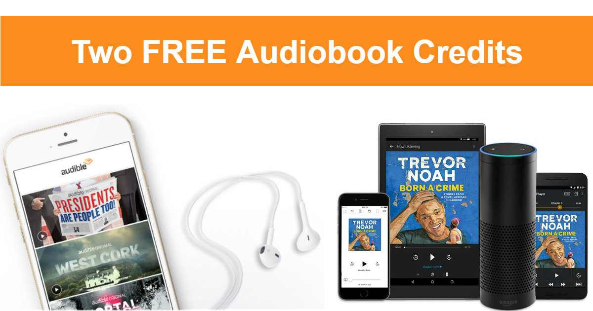 FREE Audible Membership for 1.