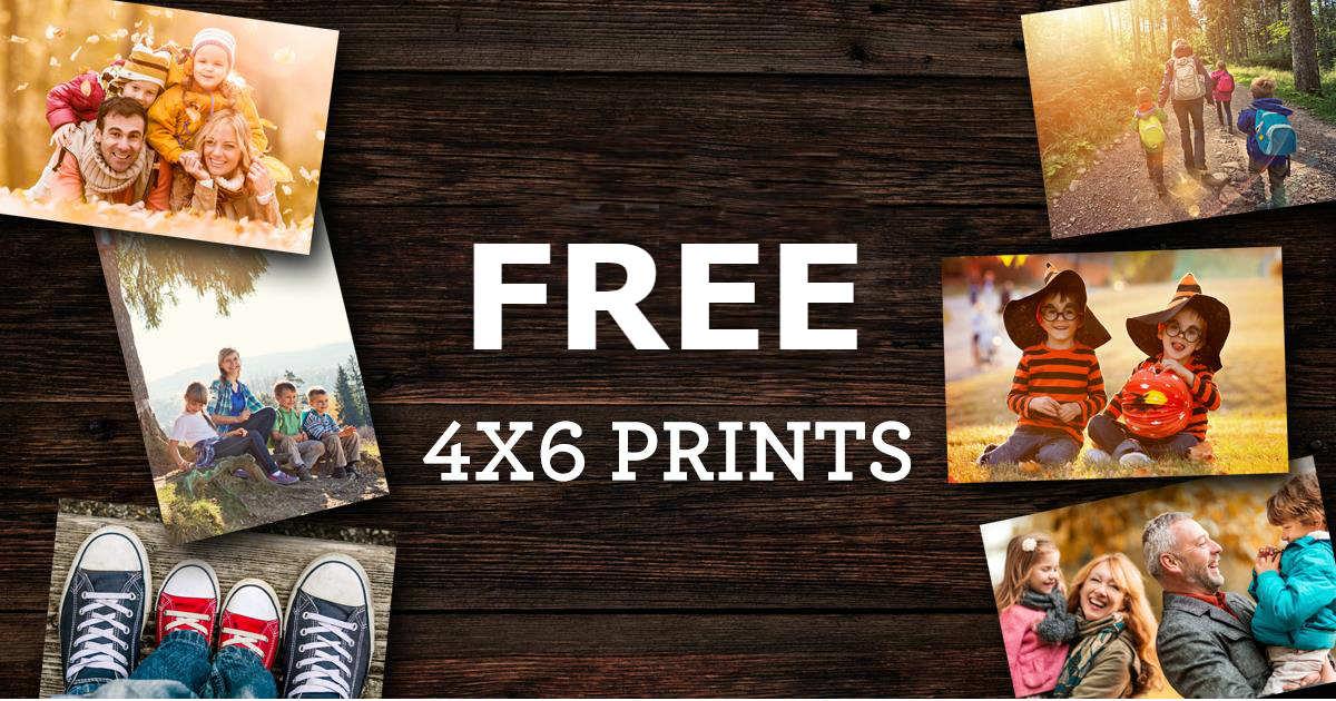 101 FREE 4x6 Photo Prints