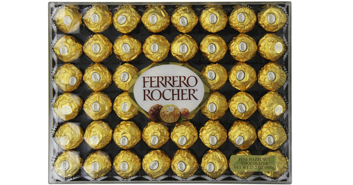 Ferrero Rocher Chocolates 48ct on Sale for ONLY $10.79