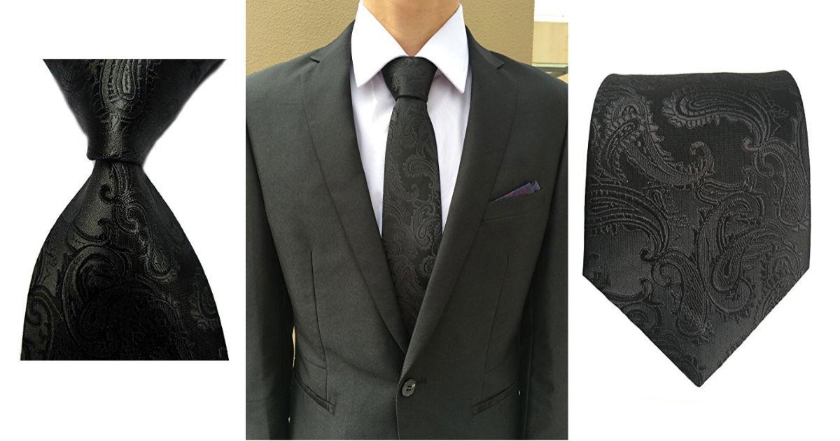Jacquard Woven Necktie for Und...