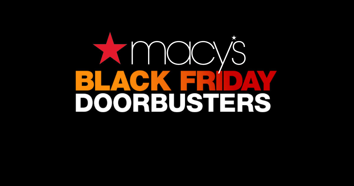 Macy's Black Friday Deals Star...