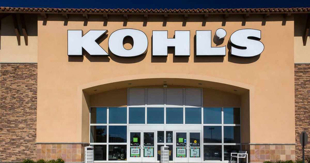 We'd say that now is a great time to shop Kohl's!