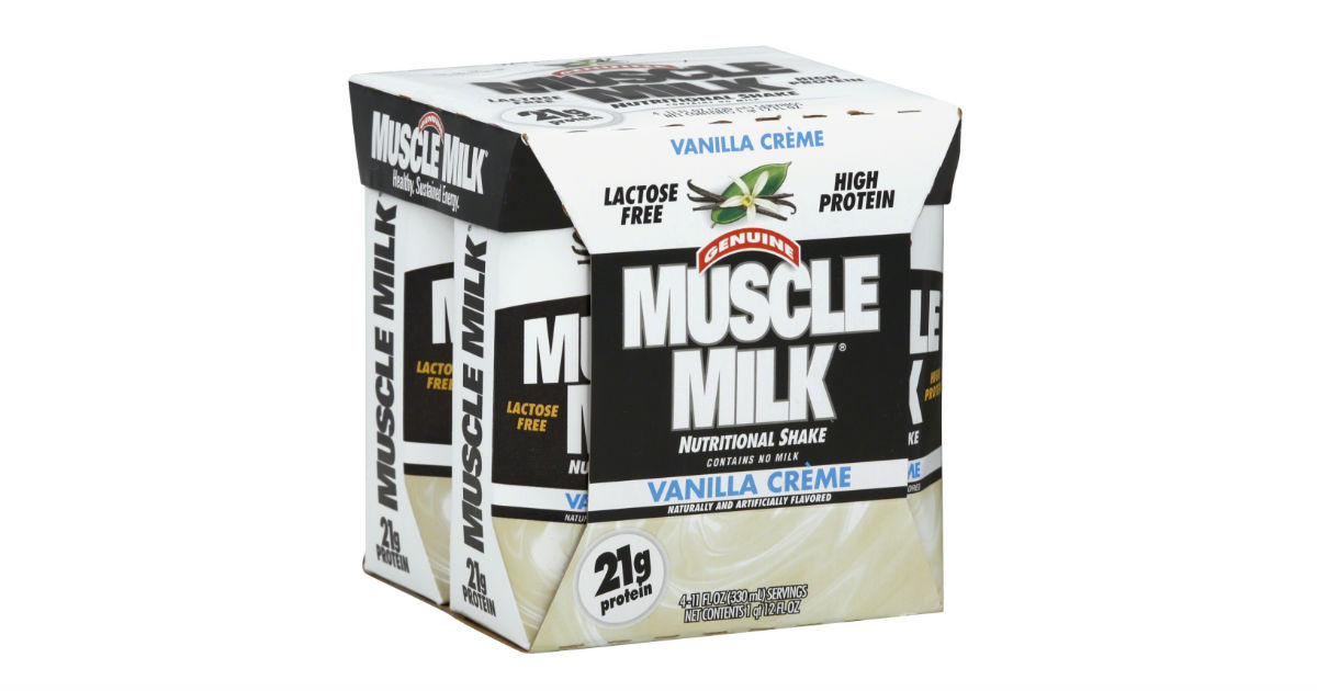 Muscle milk expired