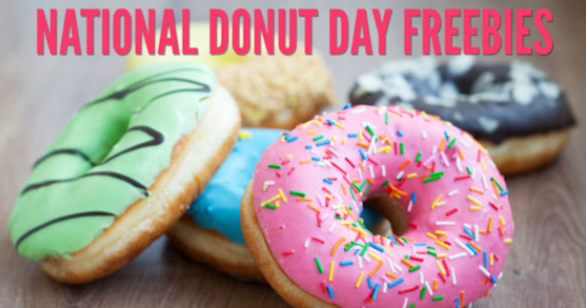 2018 National Donut Day Freebies & Deals RoundUp