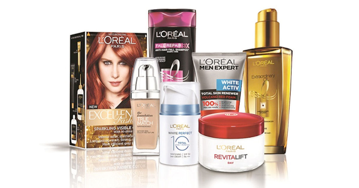 Free L'Oreal Products & Samples