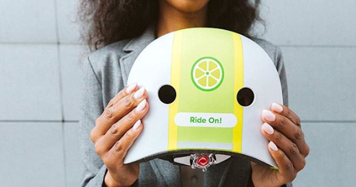 Free Lime Bike Helmet - 1st 25,000