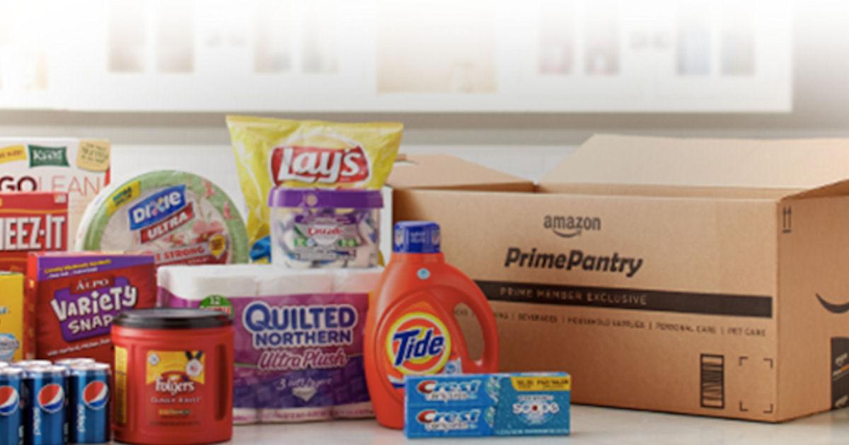 $10 Off $60 Amazon Prime Pantr...