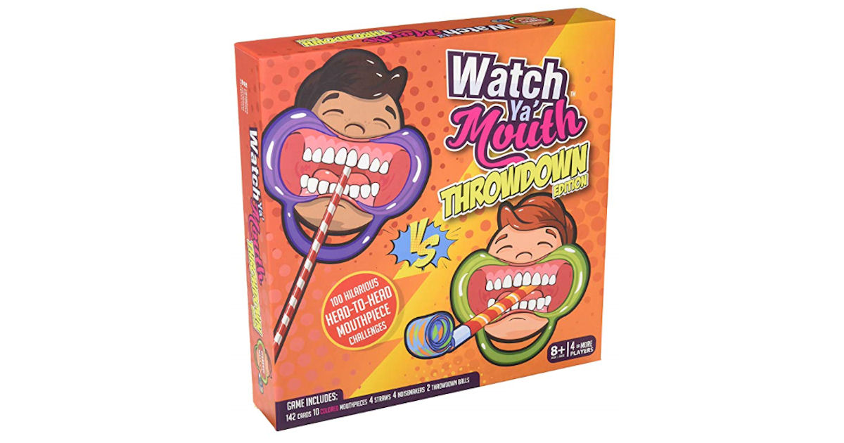 Watch Ya Mouth Game ONLY $9.99  (Reg. $25)