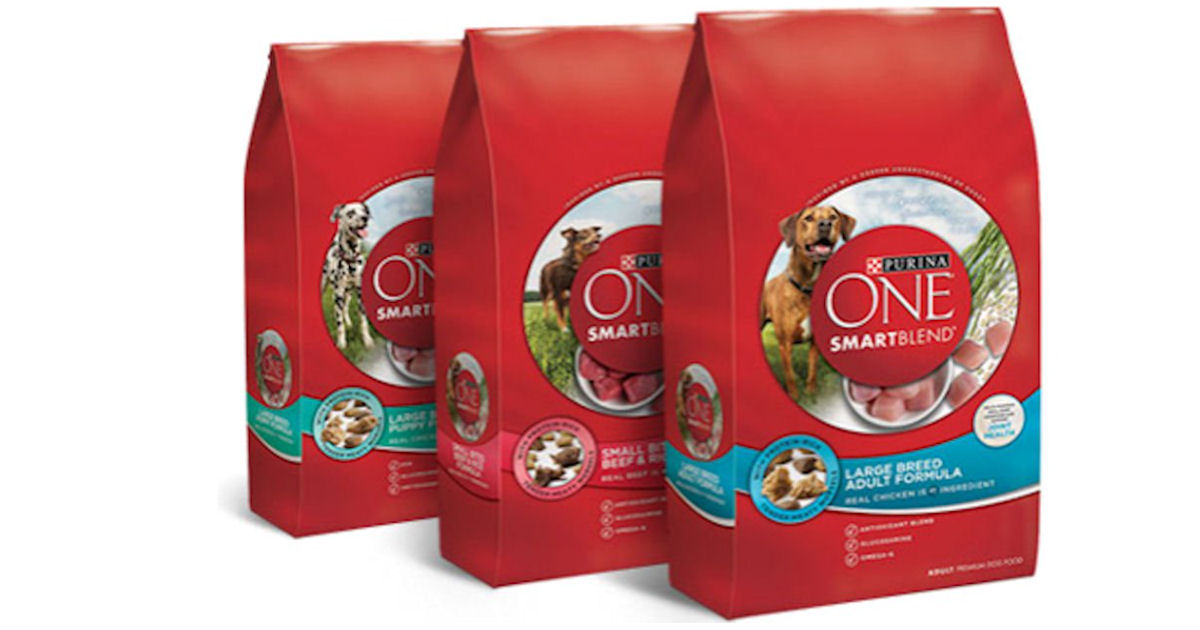 Free Bag of Purina ONE Dog Food