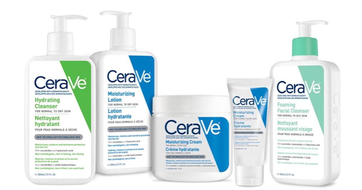 Free CeraVe Skincare Samples