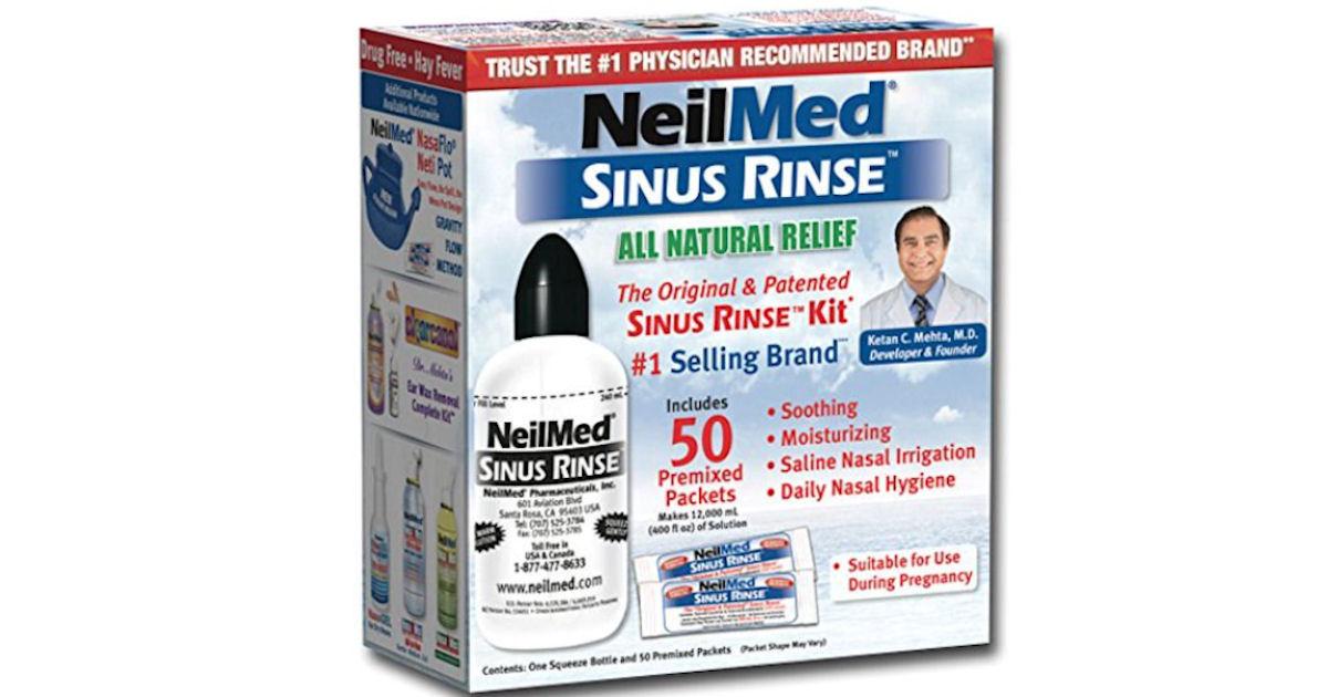 FREE NeilMed Sinus Rinse Kit o...