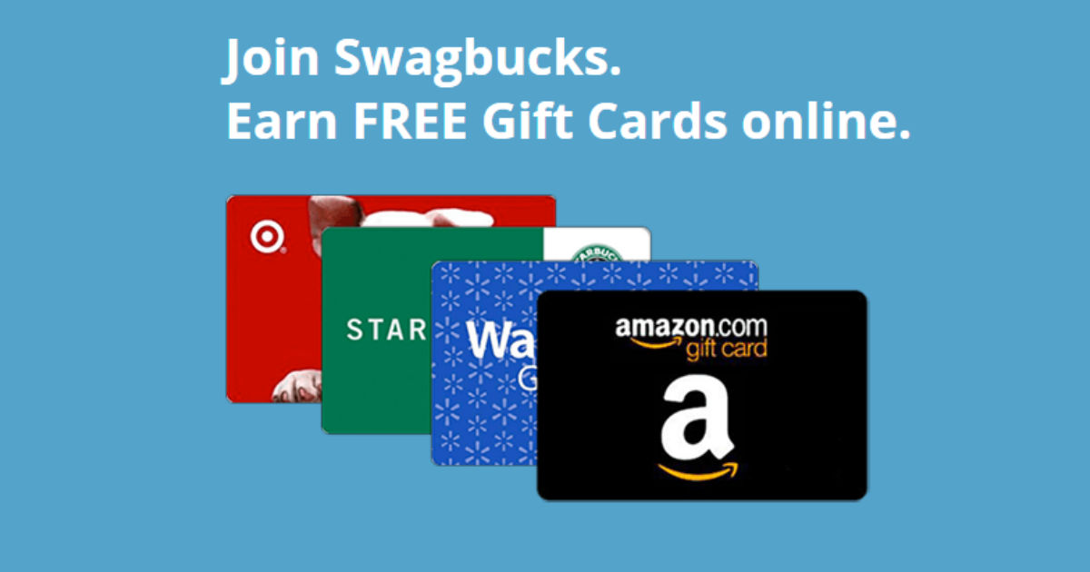 Earn Gift Cards with Swagbucks...