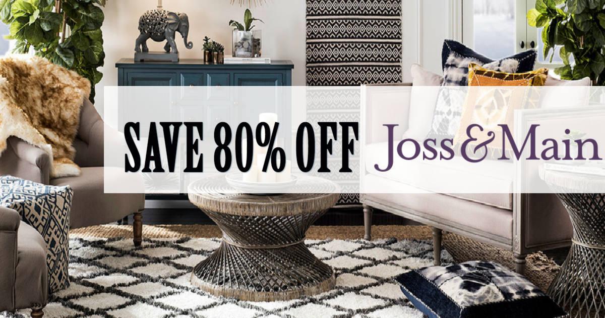 Joss & Main Furniture & Decor up to 80% Off - Daily Deals ...