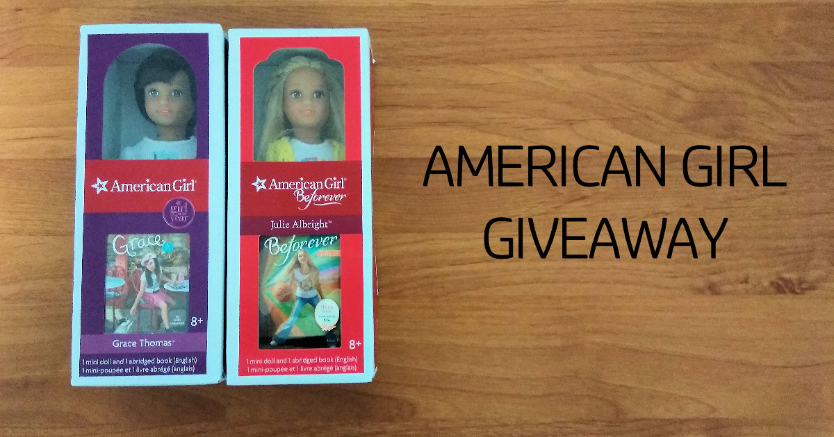 Giveaway Free American Girl Create Your Own Doll | Fit Slim