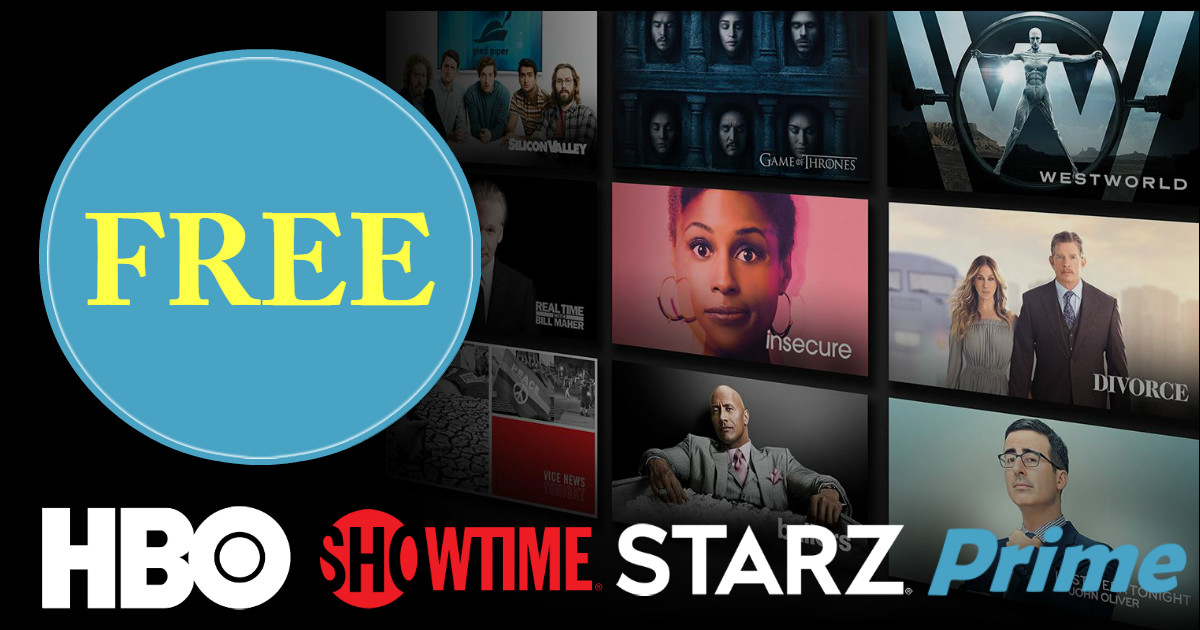 Watch STARZ, HBO and SHOWTIME.
