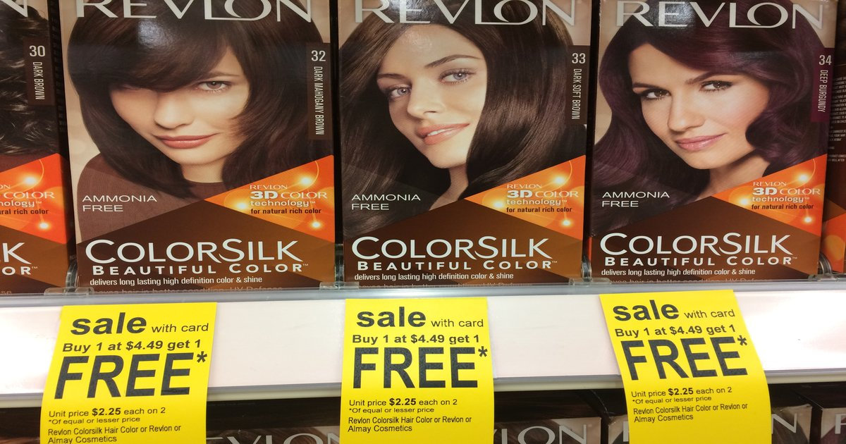 graphic about Revlon Printable Coupon known as Revlon Colorsilk at Walgreens for $1.75 with Coupon