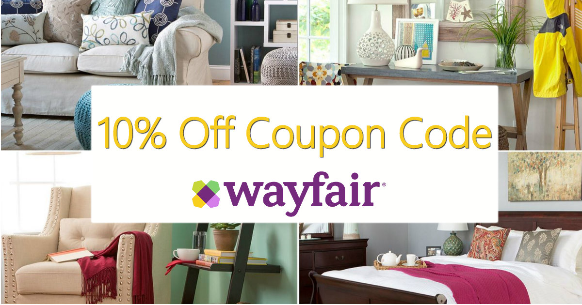 at home decor coupons save up to 70 at wayfair and 10 promo code 10380