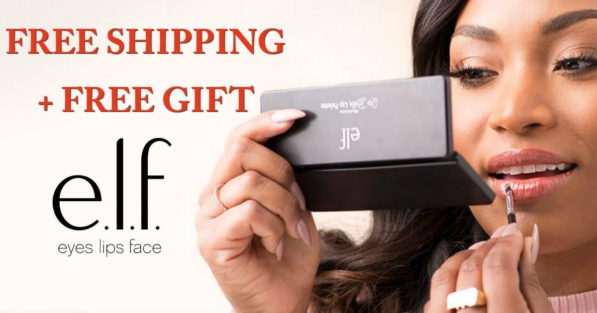 e.l.f Cosmetics Free Shipping.