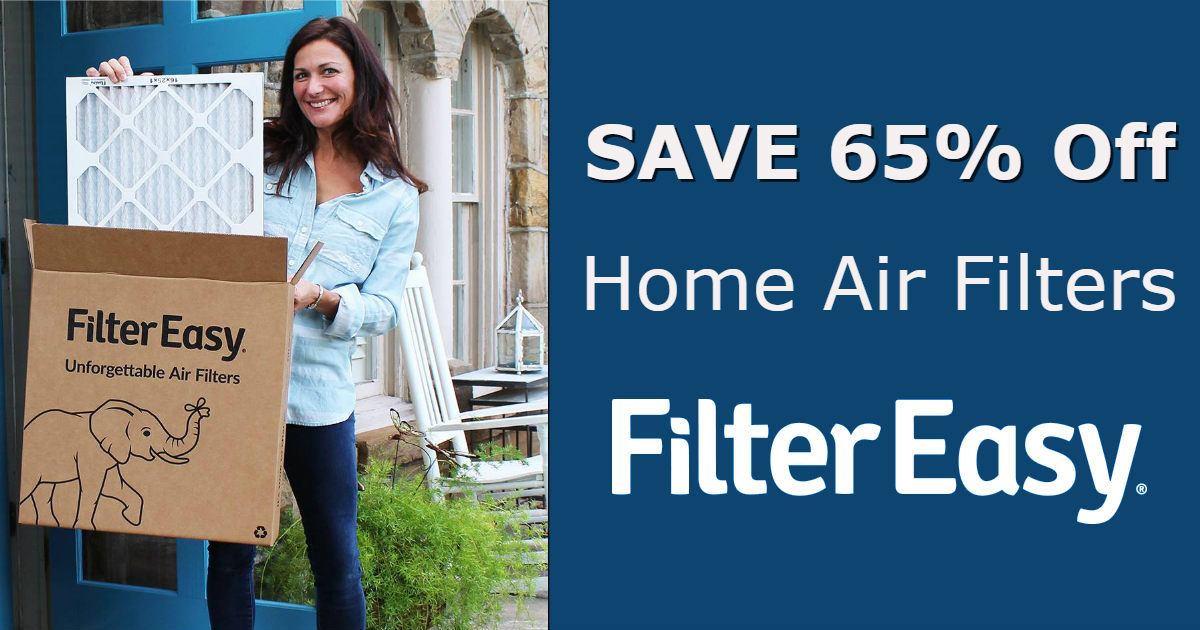 Save 65% Off Air Filters and H...