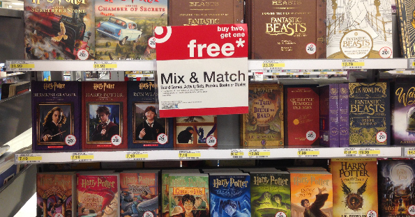 Harry Potter Book Set Target : Buy two get one free harry potter books at target with