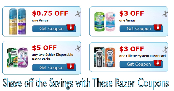 photo regarding Venus Printable Coupons known as Shave Off the Cost savings with All those Very hot Razor Discount coupons