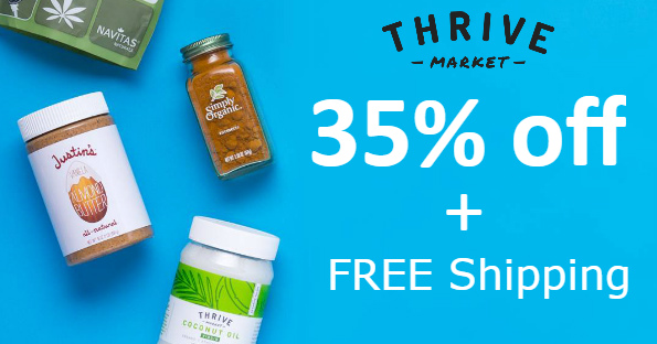 Thrive Market Extra 35% Off &a...
