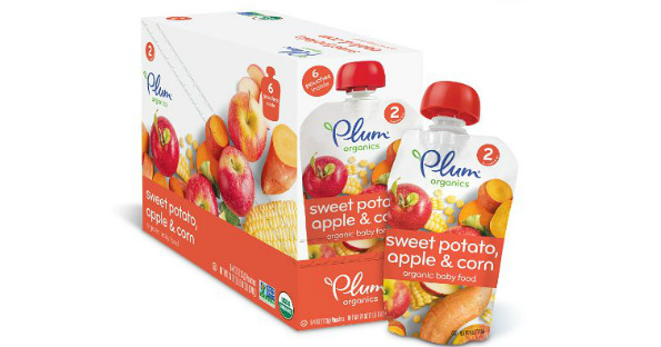 photo relating to Plum Organics Printable Coupon called Amazon Plum Organics Little one Meals Pouches $0.80 Every single Transported