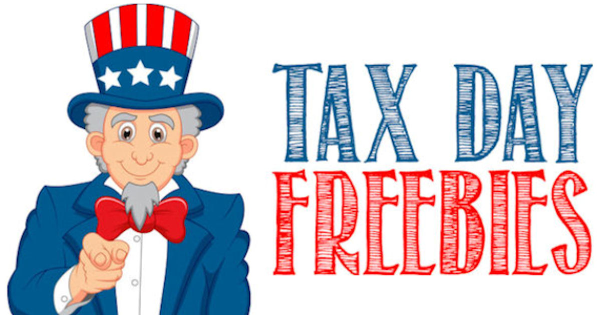 2018 Tax Day Freebies RoundUp