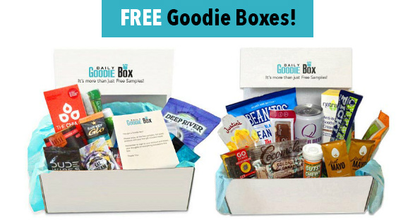 FREE Goodie Box Filled with Pr...