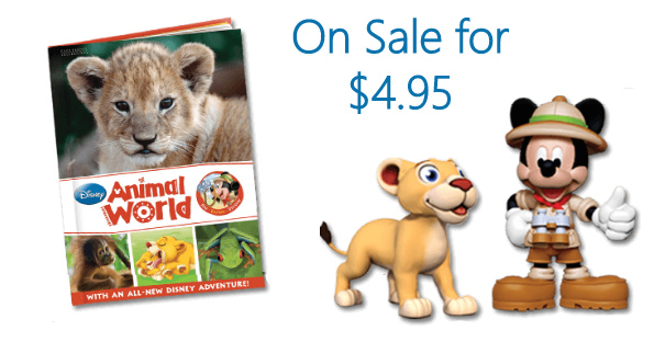 Disney Animal World Book &...