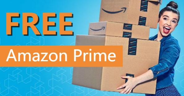 FREE Amazon Prime Memberships.