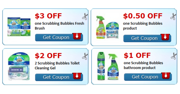 Scrubbing Bubbles Printable Coupons Printable Coupons