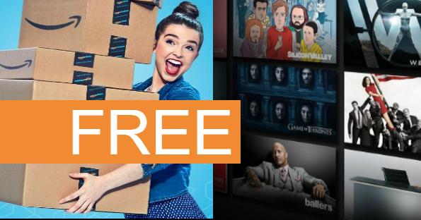FREE 6 Months Amazon Prime Mem...