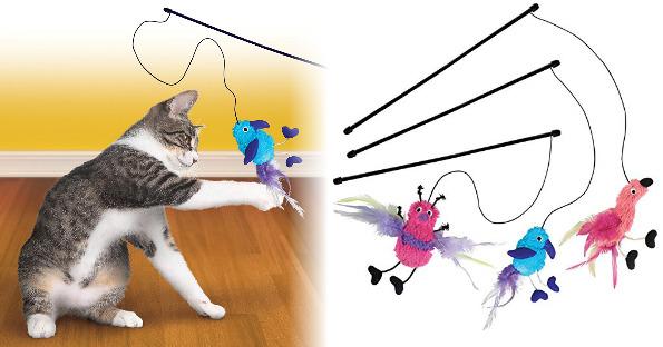 Kong Cat Wand Toy Teaser $2.82...